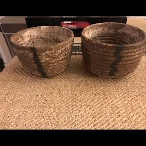 McCarty cups set of two like new. 3x4
